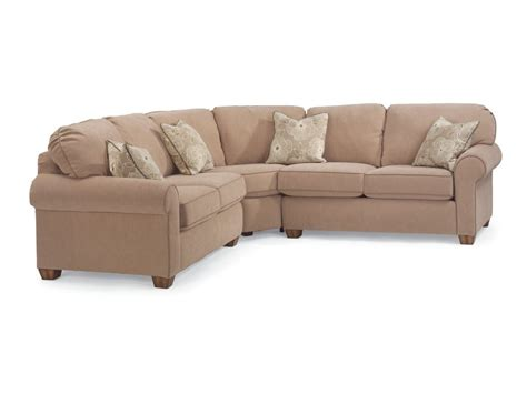 flexsteel living room thornton sectional 3535 sect