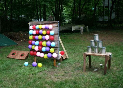backyard carnival games for kids diy games made the tin can game for the 2013 family