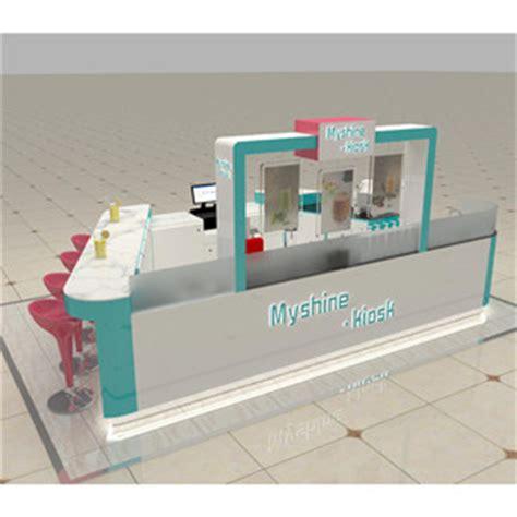 design booth bubble tea food kiosk food kiosk manufacturer eyebrow kiosk nail