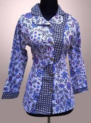 desain batik mudah 27 contoh desain baju batik terbaik 2018