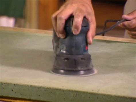 How To Do Cement Countertops by How To Build A Concrete Countertop How Tos Diy
