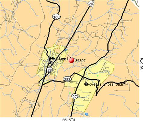37397 zip code (powells crossroads, tennessee) profile