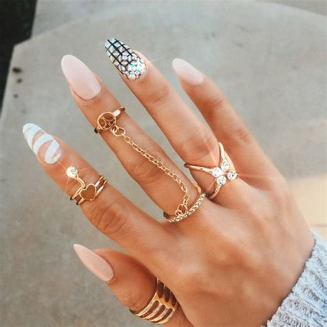 mid finger rings tumblr gold midi ring tumblr