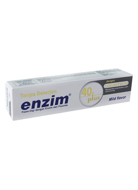 enzim pasta gigi 40 plus tub 100ml klikindomaret