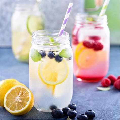 Detox Waters Ising Blueberries Strawberries And Lemon by Detox Water 50 Best For Burning And Weight Loss