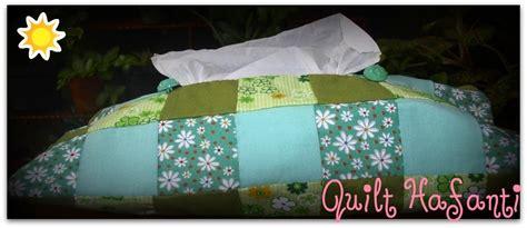 Paket 1 Tempat Aqua Gelas Hias Tissu quilt hafanti membuat tempat tissu dari kain perca