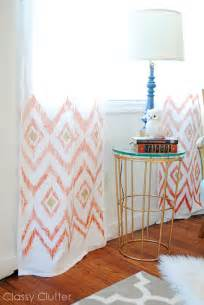 Target Curtains And Drapes Coral And Mint Living Room Reveal Classy Clutter