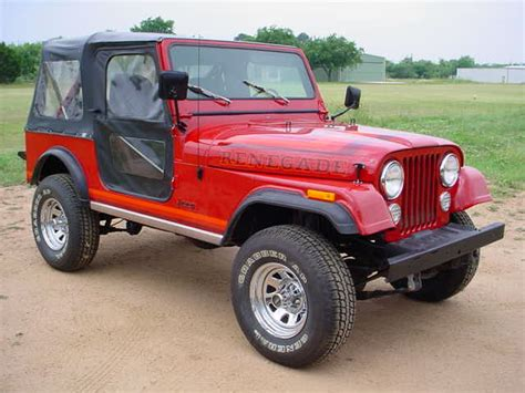 1986 Jeep Wrangler Products Jeep Ezy Fit Soft Tops