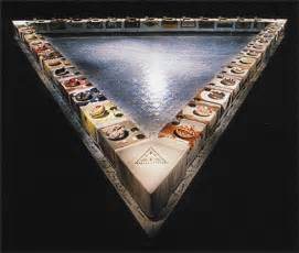 dinner by judy chicago history of chicago judy