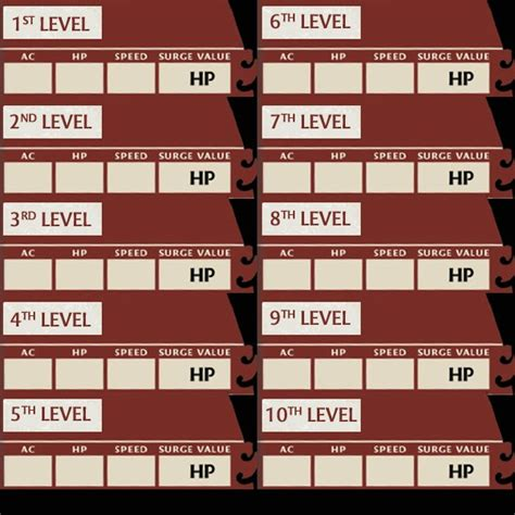 Dungeon Dragons Adventure System Large Villain Card Template by Quest D D Adventure System Basic Caign
