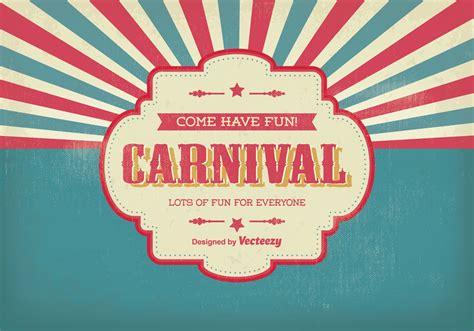 Vintage Carnival Illustration Download Free Vector Art Carnival Free
