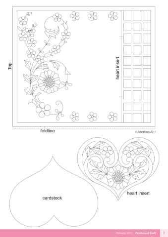 17 best images about pergamano parchment templates on