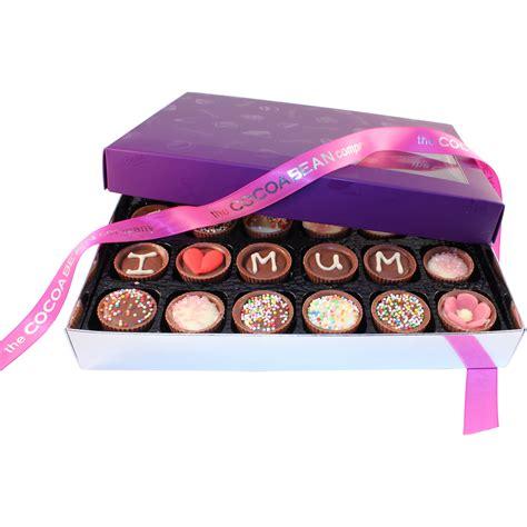 Handmade Chocolates Glasgow - box of 24 chocolates i the cocoabean company