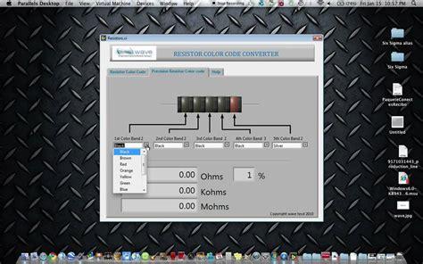 resistor color code converter download resistor color code converter download