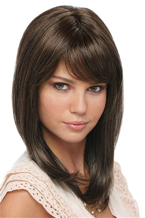 easy to maintain shoulder length haircuts short and medium length wispy layered haircuts