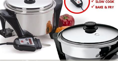 Rice Cooker Saladmaster cook rice cook bake fry saladmaster electric skillet mp5 temperature auto