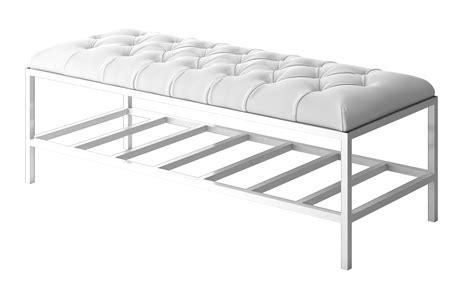Kitchen Collection Wrentham 100 bench modern furniture white bench nuevo modern