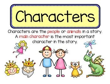 character themes meaning characters setting problem solution teaching aids