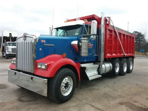 buy kenworth w900 purchase kenworth w900 dump trucks bid buy on auction