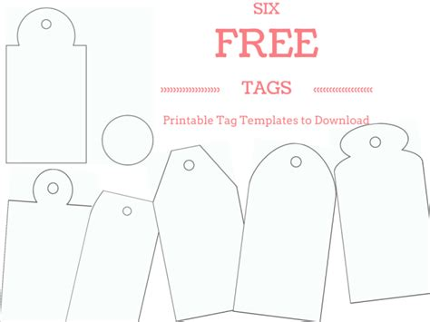 printable tags designs make your own custom gift tags with these free printable