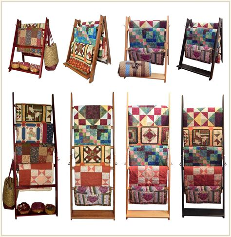 Quilt Rack Display by Ladderrack Quilt Display Racks