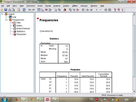tutorial spss distribusi frekuensi cara mencari mean median modus pada spss digital informasi