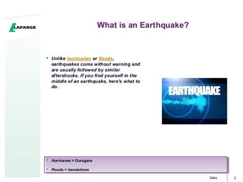 section 8 1 what is an earthquake how to react during an earthquake