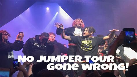 lil pump vlog no jumper tour gone wrong lil pump fights a fan vlog 4