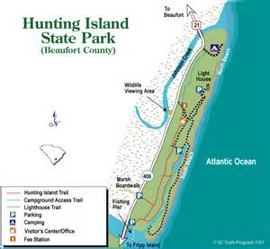 Sc State Parks Map by Hunting Island Sc Campground Map South Carolina State