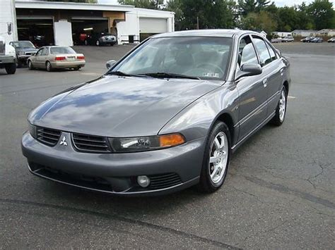 Mitsubishi Galant 2003 Mpg Sell Used 2003 Mitsubishi Galant Gtz Sedan 4 Door 3 0l In