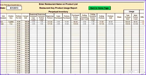 6 Inventory Excel Template Free Exceltemplates Exceltemplates Inventory Spreadsheet Template Excel Product Tracking