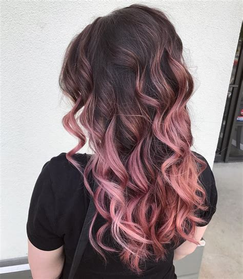 rose gold hair dye dark hair 25 eye catching rose gold hair ideas for 2017 all hairstyles