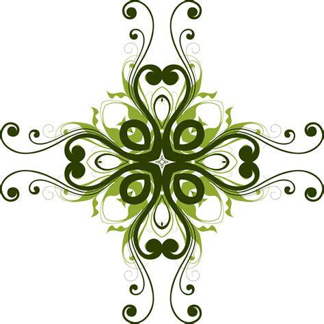 design in flower clipart flourish flower design 7