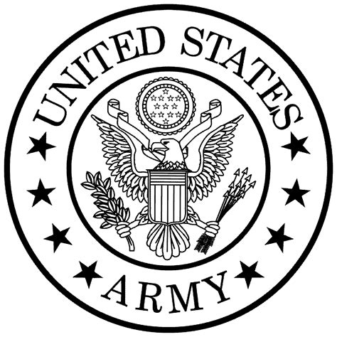 Digitec Army Blackwhite united states army clipart bbcpersian7 collections