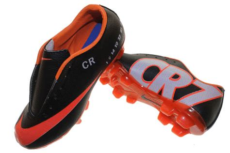 Sepatu Bola Anak Nike Mercurial Cr7 Hijau Hitam Terbaru sepatu olahraga nike adidas reebok harga grosir