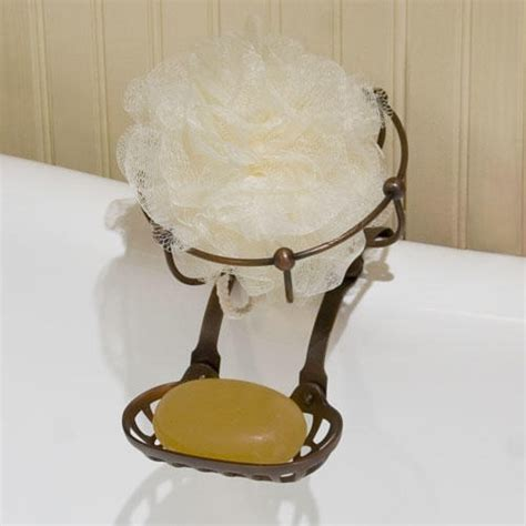 bathroom accessories soap holder solid brass soap holder and sponge basket clawfoot tub accessories bathroom