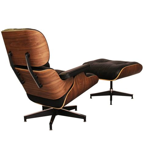 Lounge Chairs With Ottomans by Eames Inspired Inspired Walnut Lounge Chair With Ottoman