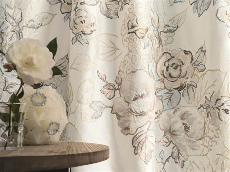 tessuti inglesi per tende tissu brod 233 en soie 224 motif floral pour rideaux l absolue