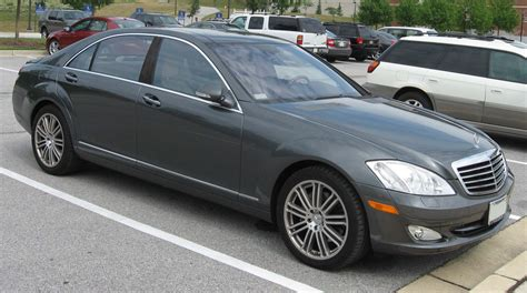 Mercedes S550 2007 by File 2007 Mercedes S550 Jpg Wikimedia Commons
