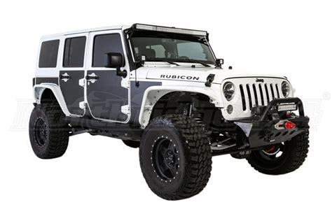 jeep jk 4dr smittybilt mag armor magnetic side protection