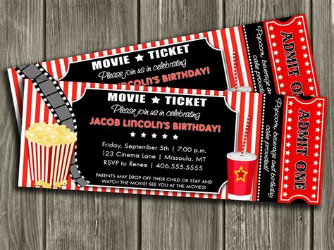 concert invitation card template template ticket invitation template