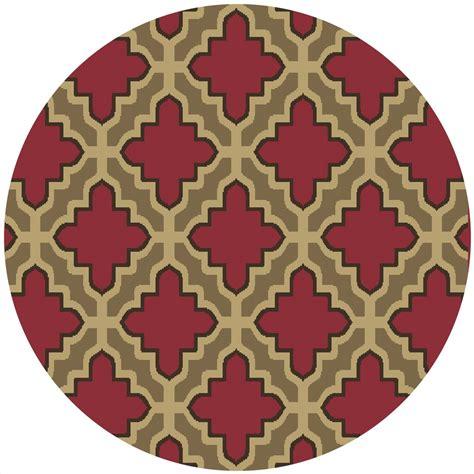 geometric print area rugs geometric moroccan trellis 8x8 area rug modern print actual 7 10 quot x7 10 quot ebay
