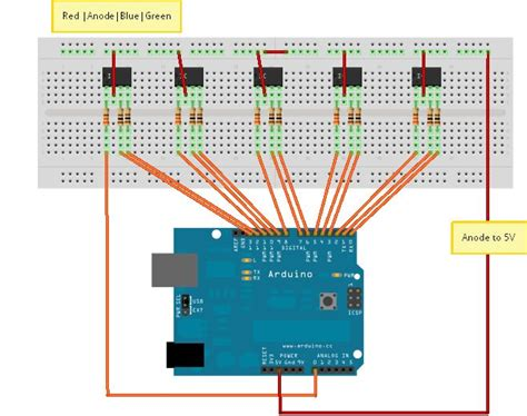 arduino digital output resistor questions about breadboards resistors and rgb led