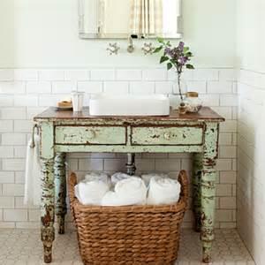 des id 233 es pour une salle de bain vintage