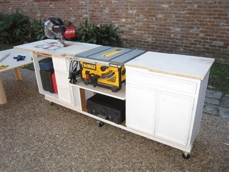 portable saw bench 1000 ideas about table saw station on pinterest table