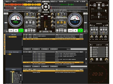 convexsoft dj audio mixer image full featured dj and beat dj software mix free insok