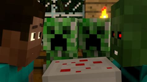 i baked a cake just for you a minecraft animation