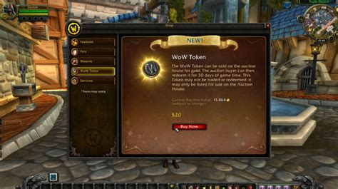 buy wow gold auction house world of warcraft gets 20 wow tokens for gold and game time today geek com