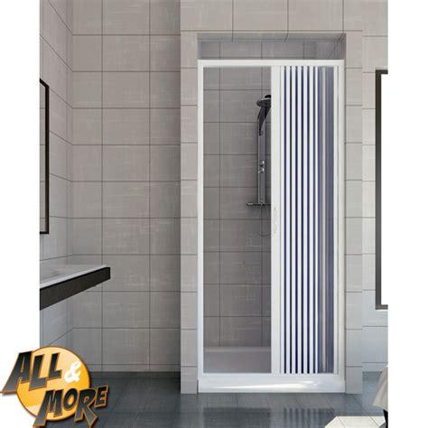 porta a soffietto per doccia all more it box doccia 187 porte per nicchia a parete