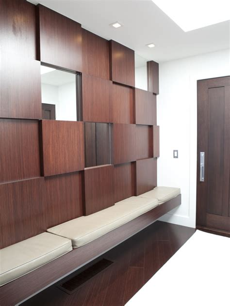 modern wood paneling mudroom essentials tips to creating an efficient mudroom